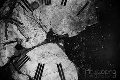 Old clock face (Oradour-sur-Glane) Old Clocks, Explore Travel, Urban Exploration, Travel Around, Stained Glass, France, Abstract, Artwork, Prints