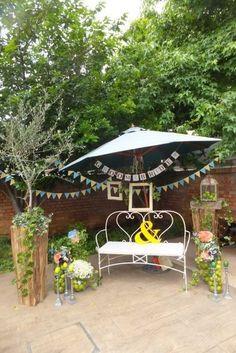 ガーデンウェディング、植物園結婚式の会場装花の個性的なアイディア - オリジナルウェディング・フラワー コンセプトウェディング・フラワー専門店 花屋福太郎