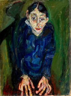 La Folle, Chaim Soutine, 1919