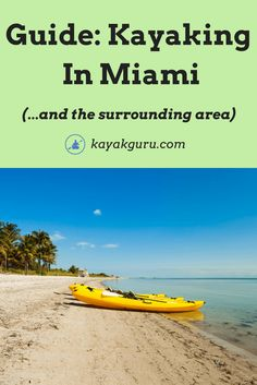 Best Kayaking Destinations In Miami And Beyond - Kayak tours and rental options also revealed! Best Kayaking Destinations In Miami And Beyond - Kayak tours and rental options also revealed! Camping Tours, Kayak Tours, Kayak Camping, Camping List, Oregon Coast Camping, Southern Oregon Coast, Private Campgrounds, Recreational Kayak, Kayaking Tips