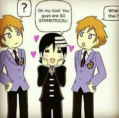 Symmetry Funimation crossover of Soul Eater and Ouran High School Host Club