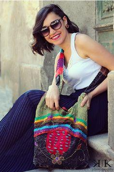 Geanta din Nepal cu impletituri - COOL Nepal, Handmade Bags, Style Inspiration, Photography, Fashion, Embroidery, Moda, Handmade Handbags, Photograph