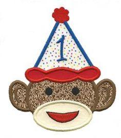 - Birthday Monkey cake