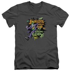 Batman - Goblin Candy Adult V-Neck T-Shirt