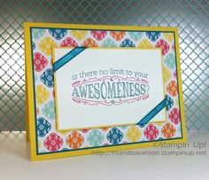 Stampin' Up! Big News stamp set. Is there no limit to your awesomeness?!