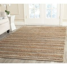 Shop for Safavieh Cape Cod Handmade Blue Jute Natural Fiber Rug (10' x 14'). Get free shipping at Overstock.com - Your Online Home Decor Outlet Store! Get 5% in rewards with Club O! - 17096864