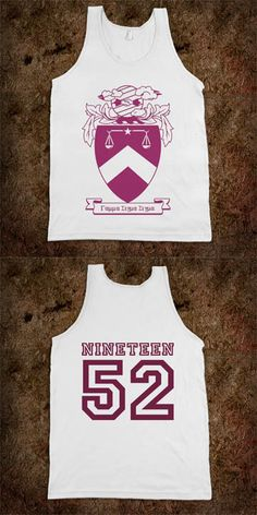 Gamma Sigma Sigma Frat Tanks - Crest Design - CLICK HERE to purchase :) Buy 1 or 100!