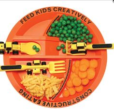 Constructive Eating børnebestik / childrens cutlery