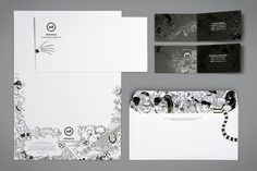 MUSICA Corporate Identity by Brandt Botes, via Behance