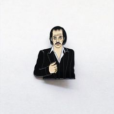 Nick Cave by @goodgoodpins. Make a little history baby  #nickcave #musicislife #legend #illustrator #illustration #design #designer #graphicart #graphicartist #graphicdesign #pin #pins #enamelpin #enamelpins #lapelpin #lapelpins #pingame #pinlife #pinlord #patchgame #pinsofig #stickerart  Get it through his online shop! by pin_lord