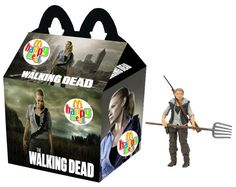 "The Walking Dead ""Andrea"" Happy Meal"