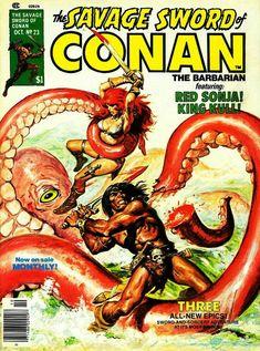 Savage Sword of Conan Red Sonja, Split Complementary, Willem De Kooning, Conan The Barbarian, Grimm Fairy Tales, Sword And Sorcery, Jessica Rabbit, Miss Hulk, Pin Up Art