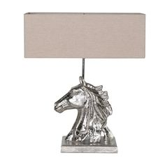 Horse Head Table Lamp http://www.la-maison-chic.co.uk/Item/Horse-Head-Table-Lamp
