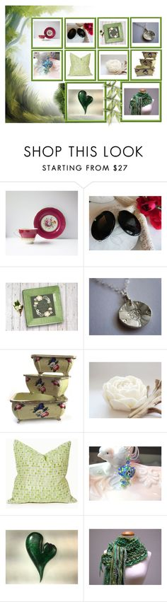 """""""Lovely Mix #7"""" by keepsakedesignbycmm ❤ liked on Polyvore featuring Aynsley, etsy, jewelry, art, accessories and homedecor"""