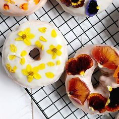 We're super excited to announce that @themerrythought is the winner of our Edible Flowers Food Photography Challenge! These floral donuts are just too dreamy for words!  Thank you so much to all of the super talented bloggers who participated. We were floored by your gorgeous photos and your creative use of the edible flowers. We hope you had as much fun with this challenge as we did! ❤️❤️❤️