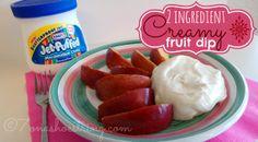 Two-Ingredient Creamy Fruit Dip