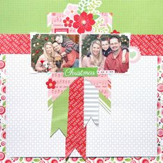 Pam Callaghan Chickaniddy Crafts Jolly Good Layout 3