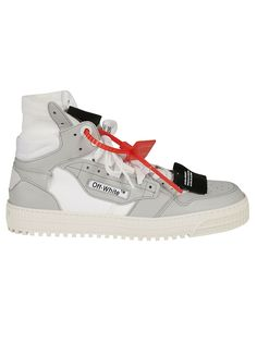 d23c47da5d29 OFF-WHITE 3.0 OFF COURT SUEDE-TRIMMED LEATHER SNEAKERS.  off-white ...