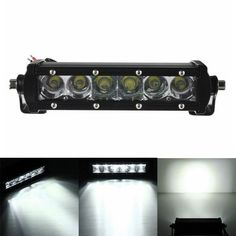7.5Inch 30W LED Work Light Bar Combo Offroad SUV Jeep Car Driving Lamp