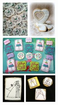 The full wrap-up of the Bridal Bliss Community Cookie Contest can be found in Julia M. Usher's special edition newsletter, hot off the presses!  Thanks to the many fabulous cookie decorators who submitted entries!