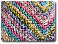 wiggly crochet!  Im so doing this!