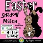 Easter Shadow Match by Giggling Wombat | Teachers Pay Teachers