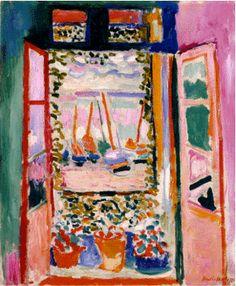 :: 『コリウールのフランス窓』 by アンリ・マティス | with a kiss, passing the key ::