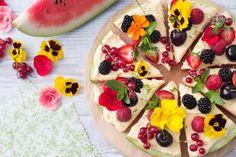 La pizza di anguria è un modo di servire l'anguria a fette in maniera fresca…