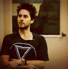 When his tousled hair looked like he'd just woken up. | 29 Photos Of Jared Leto That Will Make You Pregnant