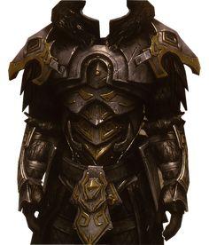 Armadura de Ferro Lahkin. Essa armadura foi forjada em frente ao vulcão de Lahrah, uma das principais cidades subterrâneas dos anões em Zamak. Feita pelo seu criador, o famoso Lahkin, considerado pelos principais historiadores como sendo o melhor anão ferreiro de todos os tempos. Ela é guardada pela cidade como uma relíquia dos tempos antigos. Seu portador original seria o Herói de Zamak. Um humano que resistiu contra uma horda inteira de dragões para que os anões se preparassem.