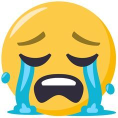 Loudly Crying Face on EmojiOne Emoticon Faces, Funny Emoji Faces, Funny Emoticons, Smiley Emoji, Ios Emoji, Images Emoji, Emoji Pictures, Cartoon Girl Images, Crying Emoji
