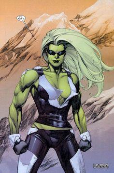 Ultimate She-Hulk by Leinil Francis Yu