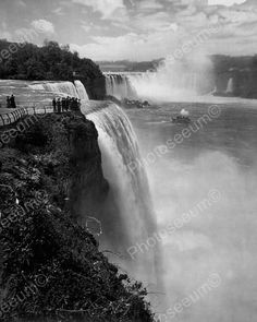 Prospect Point Niagara Falls N.Y.1900s Old 8x10 Reprint Of Photo