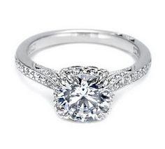 Beautiful engagement ring by Tacori http://www.tacori.com/Engagement-Rings/2620RDMDP