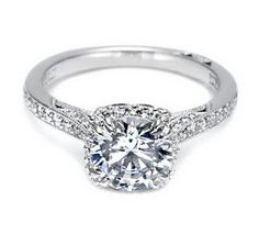 Beautiful engagement ring by Tacori.