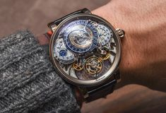 Hands-on review & original photos of the Bovet Récital 20 Astérium watch with price, background, specs, & expert analysis.