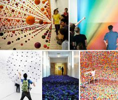 Surreal Art Spaces: 15 Stunning Gallery Transformations