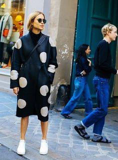 Paris Fashion Week Street Style SS 2016