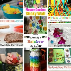 spring sensory activities for 1 year olds