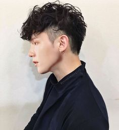 """""""Never walk away from an instant connection. It happened for a reason"""": Unknown # Hairstyles men Having His Kittens - Chapter 36 Men Haircut Curly Hair, Male Haircuts Curly, Mohawk Hairstyles Men, Mullet Hairstyle, Curly Hair Cuts, Fade Haircut, Haircuts For Men, Wavy Hair, Curly Hair Styles"""