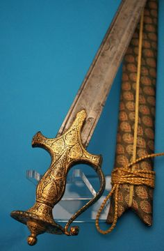 Century Indian Straight Sword (Kirach) Here we have a beautiful Indian…