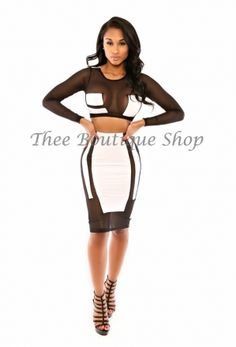 Black See-through White Tight New Style Sexy Clubwear Dresses For Cheap.jpg http://www.lover-fashion.com/2015-New-Clubwear-c552.html