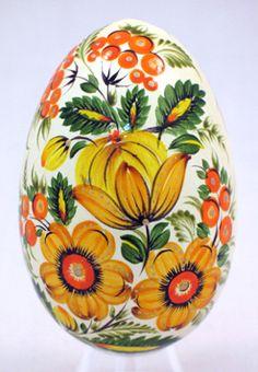 Petrykivsky Goose Egg - ukrainiangiftshop.com