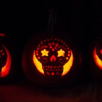 Day of the dead pumpkin by alex kershaw day of the dead diy carved pumpkins day of the dead style pronofoot35fo Images