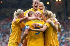 Sweden vs France, Women's Soccer Quarterfinal - Soccer Slideshows (Photo: Associated Press) #NBCOlympics