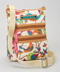 Another great find on #zulily! Tweety Twig Mini Multi-Section Crossbody Bag by Lily Bloom #zulilyfinds