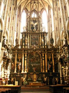 The church of Our Lady of the Snows (Czech: Panny Marie Sněžné), Prague, Czechia Prague Old Town, Prague Castle, Belgium Germany, Church Of Our Lady, Sacred Architecture, Pilgrimage, Barcelona Cathedral, Praha, Snow