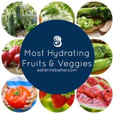 If you have trouble drinking enough water, add these foods to your day-to-day!