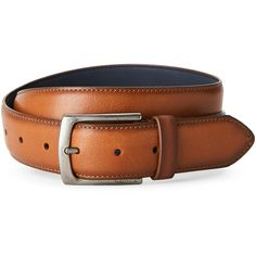 40fdafb8314 Nautica Leather Belt ( 13) ❤ liked on Polyvore featuring men s fashion