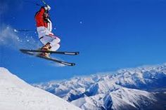 Skiing- there's nothing like being up in the fresh air and getting a bit of an adrenaline rush well at it :)